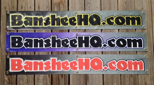 BansheeHQ Vinyl Banners