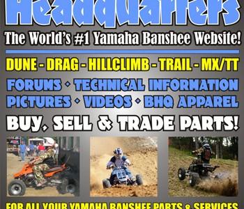 BansheeHQ Sponsors AMA Hillclimb Grand Championships