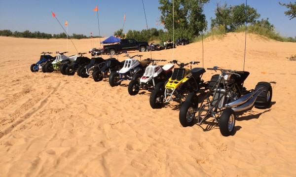 2014 BansheeHQ Ride at Little Sahara, OK video!!