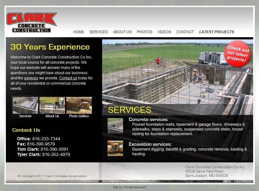 Clark Concrete Construction