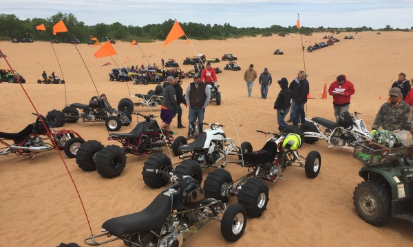 2016 BansheeHQ Spring Ride at Little Sahara, OK