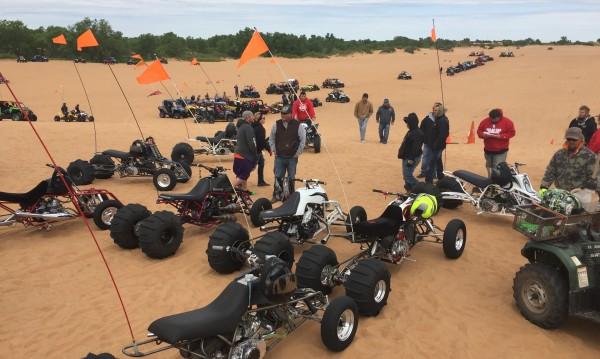 2016 BansheeHQ Spring Ride at Little Sahara, OK